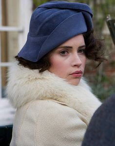 Felicity Jones as Dolly Thatcham inCheerful Weather for the Wedding (2012).