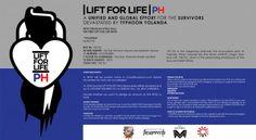 #lift4lifeph WOD benefiting the victim of  Typhoon Haiyan (Hurrican Yolanda)