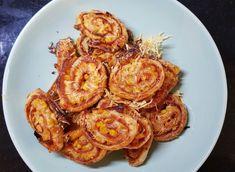 Pizzové slimáky (fotorecept) Shrimp, Pizza, Food, Basket, Essen, Meals, Yemek, Eten