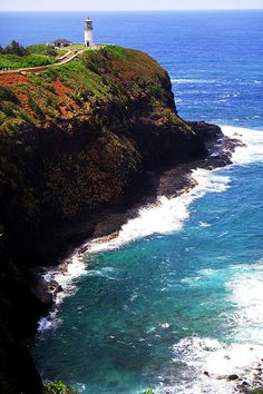 Kilauea lighthouse, Hawaii; LOVE lighthouses and this is def my favorite that I've seen!
