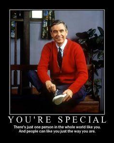Mr. Rogers #selflove
