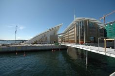View of  Astrup fearnley museum, Renzo Piano Oslo, Norway #museum #Oslo #norway
