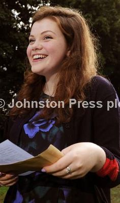 Georgie Henley - A-level exam results (Yorkshire Post)