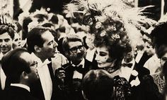 Jacqueline de Ribes with YSL