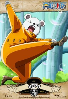 One Piece - Bepo by OnePieceWorldProject on DeviantArt