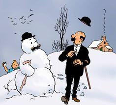 1957 ☀ FÉVRIER, le temps des jeux d'hiver • February, winter games time.