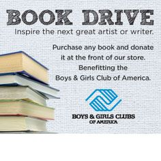 DONATIONS ACCEPTED BETWEEN 3/01 - 3/31/2013 at Michaels to benefit the Boys and Girls Clubs of America.