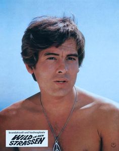 """Christopher Jones from """"Wild in the Streets""""(in german even) 1960s Movies, Christopher Jones, Wild In The Streets, Olivia Hussey, Young Actors, Teenage Years, Good Looking Men, Good Movies, Movie Tv"""