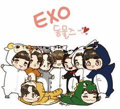 EXO fanart <3