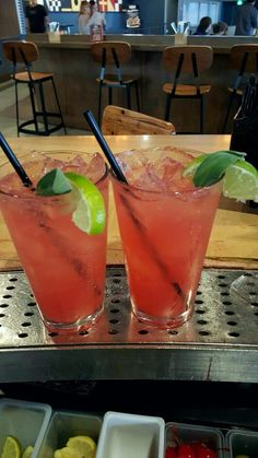 #CherryHoudini Fresh sage, cucumber,  grenadine, simple syrup, fresh lime juice, vodka top w/ club soda...  These disappear faster than Houdini's famous elephant. #cocktails #Cherry #houdini #bartend #bartender #delicious #refreshing #barboytroy