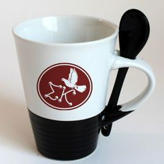 Sigma Kappa Sorority Coffee Mug with Spoon $9.95. Will be a great gift for my future little.