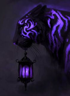 I want this for my hair Mythical Creatures Art, Wild Creatures, Fantasy Creatures, Arte Digital Fantasy, Fantasy Art, Tiger Artwork, Lion Wallpaper, Wolf Spirit Animal, Fantasy Drawings