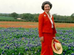 Lady Bird Johnson and her wildflower project
