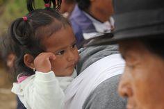Bimba al marcato di Otavalo