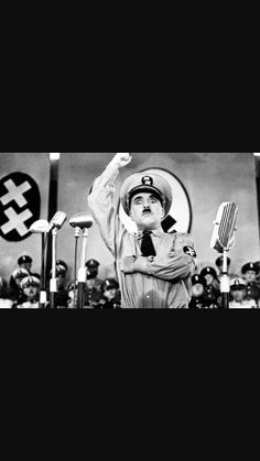 """""""The Great Dictator"""" (1940)."""