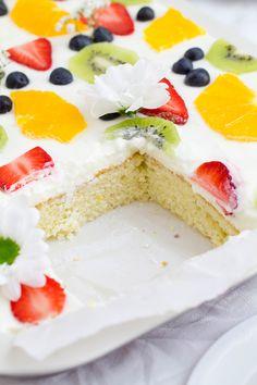 Zitrone Buttermilch Kuchen_Anschnitt