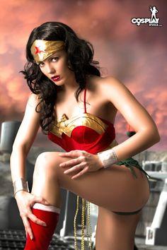 SuperHeroine Day Wonderwoman by cosplayerotica.deviantart.com on @deviantART
