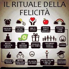 il rituale della felicità