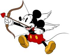 Ideas Funny Shirts Disney Mickey Mouse For 2019 Mickey Mouse Design, Mickey Mouse Art, Mickey Mouse Wallpaper, Mickey Mouse And Friends, Walt Disney, Disney Love, Disney Art, Cupid Images, Disney Valentines