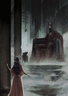 The Throne Of Morgoth by DanielPillaArt