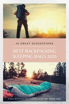 After long day hiking or camping, There is nothing like a better sleep inside a warm sleeping bag. That is why the outdoor sleeping bag is one of the very Best Lightweight Sleeping Bag, Backpacking Sleeping Bag, Cold Weather Camping, Ultralight Backpacking, Sleeping Bags, Cool Backpacks, Day Hike, Camping Gear