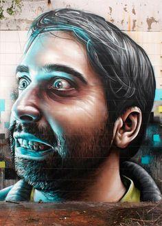 The wonderful hyper-realistic street art by Smug One