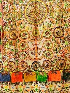 Rogan Art on Wall Hanging