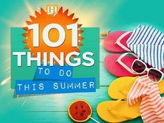 Looking for some fun summer activities for the summer? Here is a list full of ideas ;)  #101thingstodothissummer #summerfun #summerlearning #summer