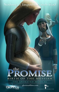 The first movie poster for The Promise: Birth of the Messiah (2013).