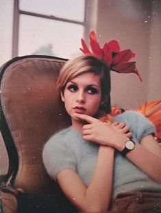 Twiggy, photographed by Bert Stern, 1967.