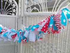 Aqua and Red fabric bannerBirthday photo propbaby shower School Decorations, Red Fabric, Photo Props, Aqua, Banner, Baby Shower, Unique Jewelry, Birthday, Handmade Gifts
