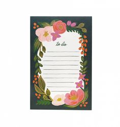 Running out of my to do list planner, need this rifel co. one <3