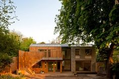 """'""""..The key component of 'Flint House' was to combine new technology with an element of craft, which all too often is lost in new build houses. Sustainable, bespoke, enviable..'"""