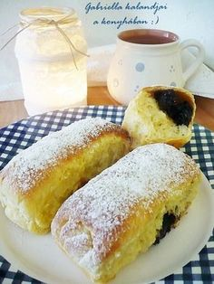 Hungarian Desserts, Hungarian Recipes, Hungarian Food, Ring Cake, Hot Dog Buns, Scones, Nutella, Cookie Recipes, French Toast