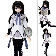 AmiAmi [Character & Hobby Shop] | 1/3 Hybrid Active Figure - Puella Magi Madoka Magica the Movie: Homura Akemi Complete Doll(Preorder)