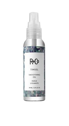 #RandCo TINSEL Smoothing Oil: A light oil that leaves hair impossibly shiny and frizz-free. Good for: Annoying, frizzy, woolly hair. #smoothing #oil