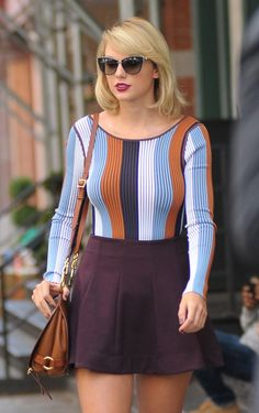 Taylor was spotted out & about in NYC today!