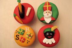 9 leuke Sinterklaas cupcakes