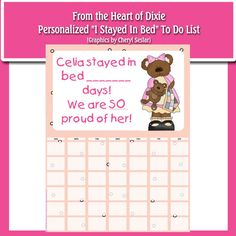 Personalized Slept in my Own Bed To Do by fromtheheartofdixie, $1.25