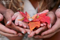 Engagement Photography Session by True Foundation Photography #engagement #photography #picture #session #idea #fall #autumn #truefoundationphotography #mountains #vintage #hair #makeup #plaid #leaves #gold #pose #love #road #country #prop #farm #ring #family #daughter