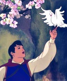 Disney - Prince Florian from Snow White and the Seven Dwarfs.the original Disney prince. Walt Disney, Disney Men, Disney Magic, Disney Animated Films, Disney Films, Disney Pixar, Disney Characters, Disney Animation, Animation Film