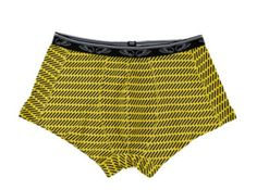 Deze leuke   Trunk - Yellow Flame van Pants to Poverty zijn hip met de leuke print Fashion Revolution design