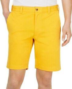 DOCKERS Light Tan Flat Front Shorts Slim and Sleek Cotton Men/'s Size W: 38