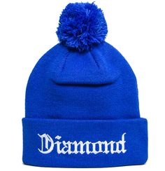 Diamond Supply Co Diamond 4 Life Beanie Royal Blue