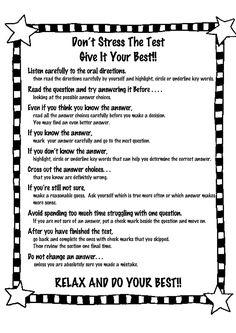 76 Genius School Ideas Whether you're in middle school, high school, university… - Vorschule und Schule Test Taking Skills, Test Taking Strategies, Star Test, Test Anxiety, Gymnasium, Study Skills, Teaching Tips, Teaching Techniques, Study Habits
