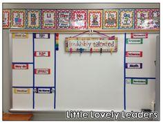 Rainbow classroom! Lots of freebies on this post!