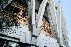Examples Of Brutalist Architecture Abandoned Circus, Chisinau, Moldova 1