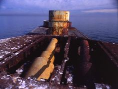 The ship wreck of HMVS Cerberus rests in the Half Moon Bay in Melbourne and has been placed in the Australian National Heritage. HMVS Cerberus was the first Breastwork monitor warship in the world. Cerberus, Shipwreck, Monitor, Boats, Ships, War, Boating, Boating, Ship
