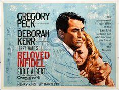 """Beloved Infidel"" (1959) Gregory Peck and Deborah Kerr......Uploaded By www.1stand2ndtimearound.etsy.com"