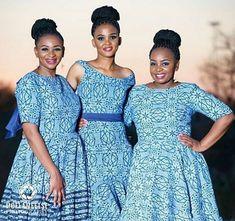 LOVELY SHWESHWE PATTERNS WITH MODERN FABRICS African Fashion Skirts, South African Fashion, African Fashion Designers, African Print Fashion, Fashion Prints, Ankara Skirt And Blouse, Shweshwe Dresses, Conservative Fashion, Old Dresses